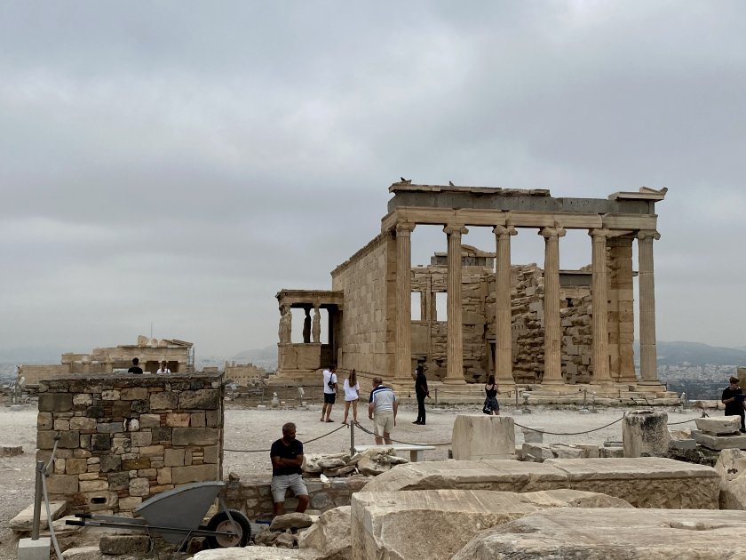 The main structure here is the Erechtheion