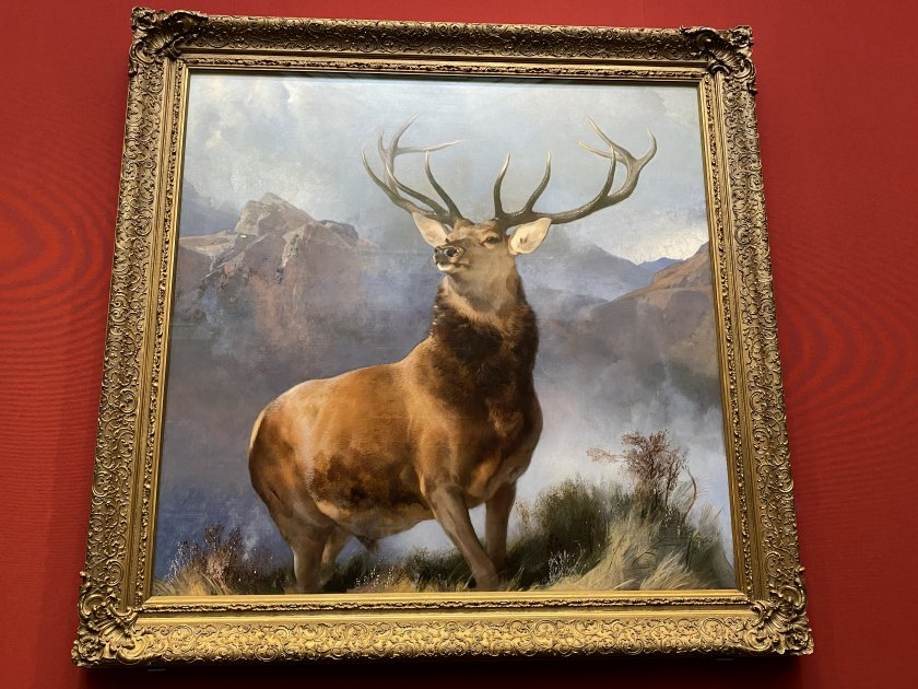 The Monarch of the Glen (1851) was acquired in 2017