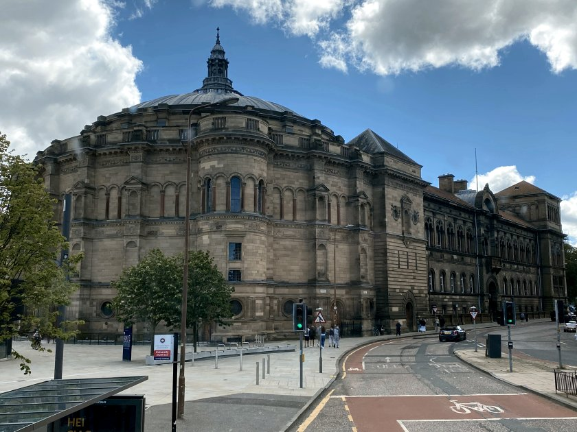 McEwan Hall, Bristo Square - part of Edinburgh University