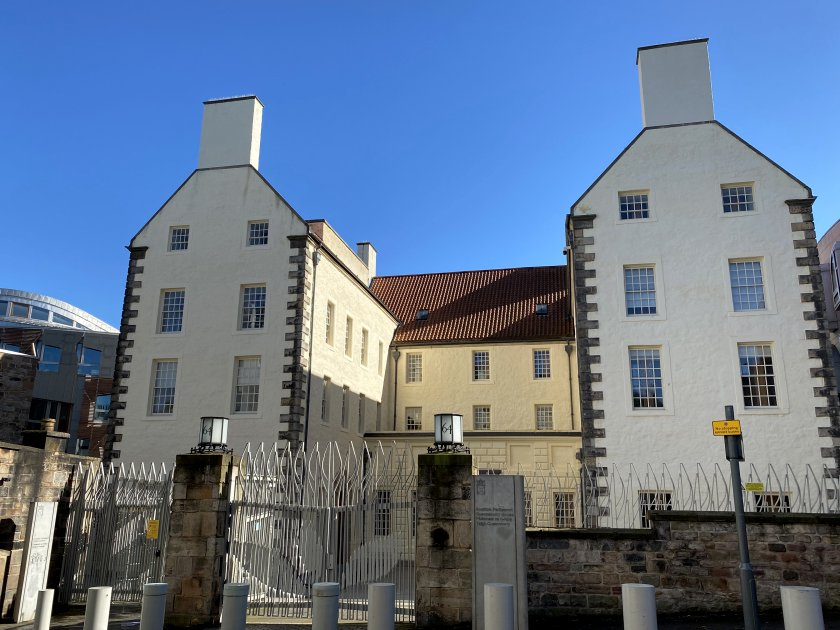 Queensberry House is part of the Scottish Parliament complex