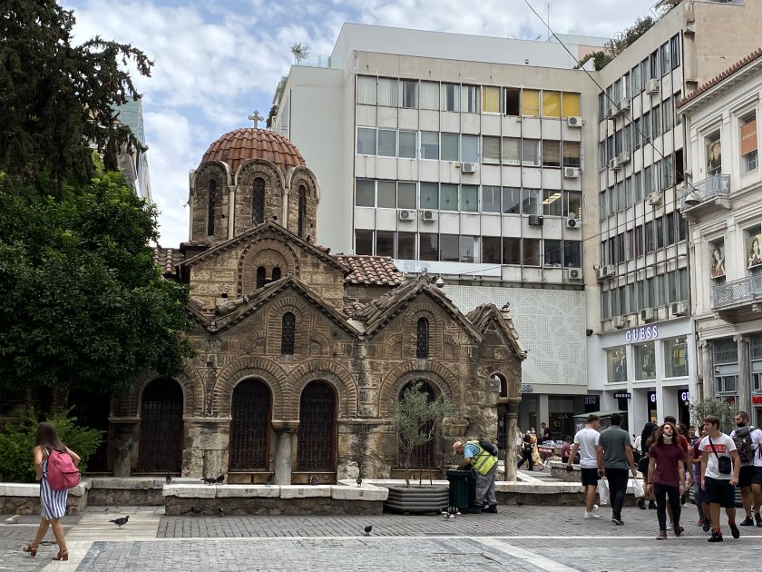 One of the oldest churches in Athens, ...