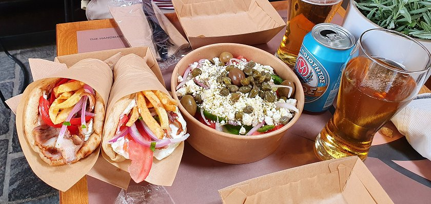 Food, glorious food, Greek-style