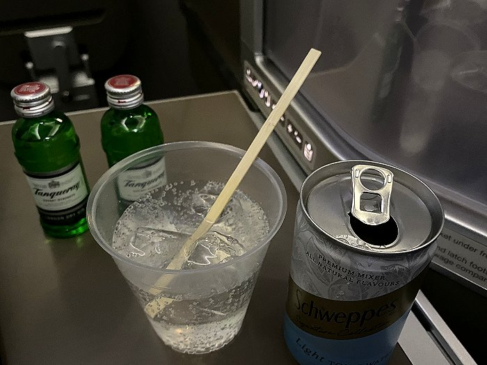 Post-take off G&T