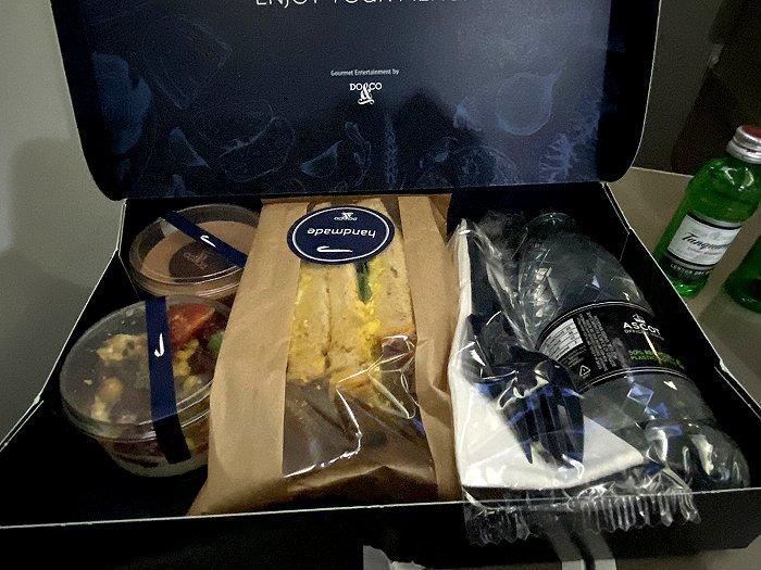 Do&Co Club Europe 'pandemic' sandwich box