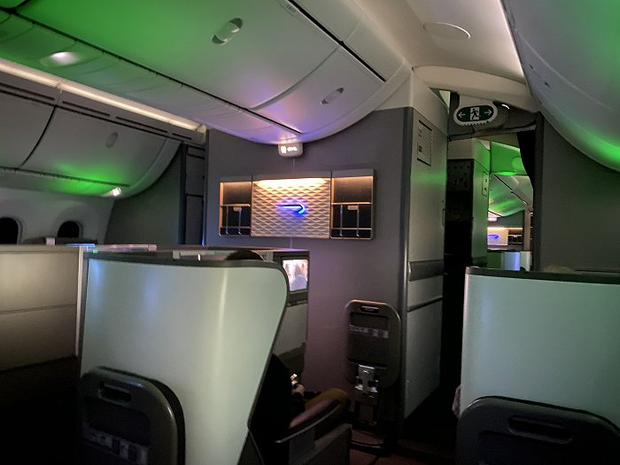 General view of the small Club World second cabin