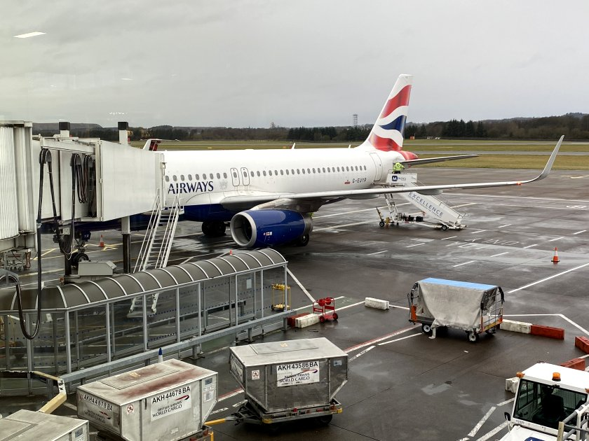 Heathrow-bound Airbus A320