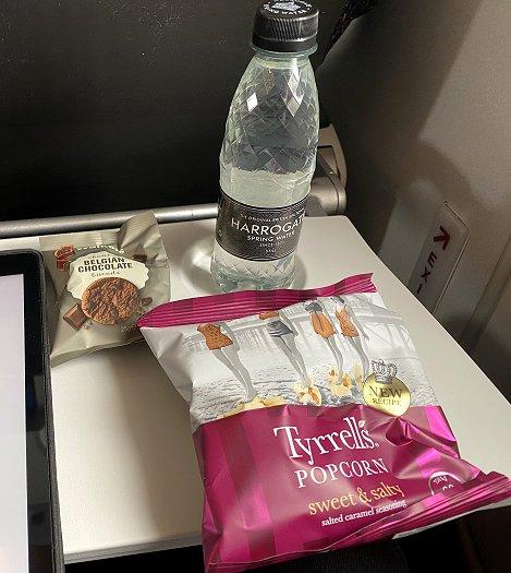 Latest version of the BA Euro Traveller 'plastic bag'