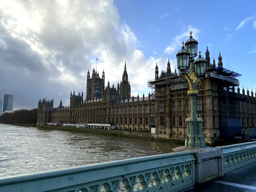 Not the South Bank, but I did say that we started on Westminster Bridge!