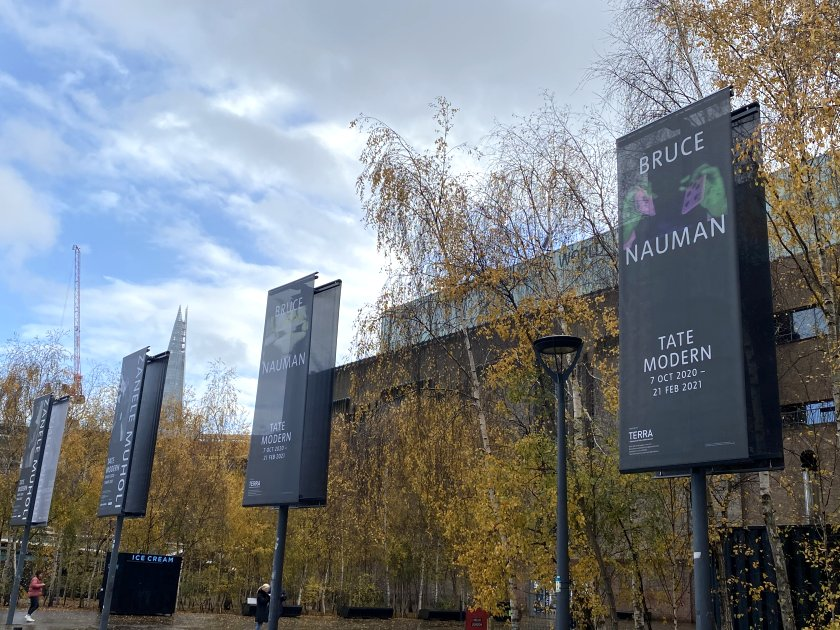 Outside Tate Modern