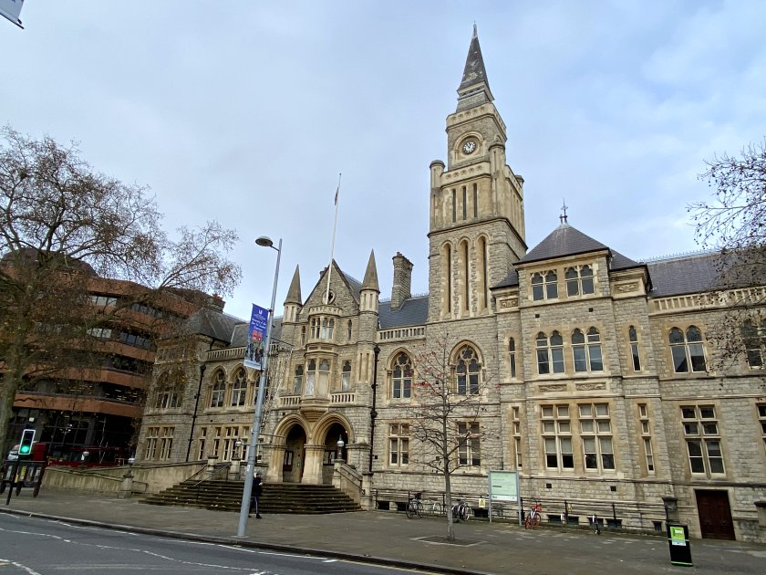 Local points of interest include Ealing Town Hall ...
