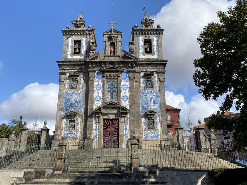 Church of St Ildefonso, Batalha Square
