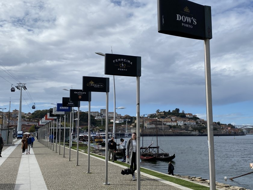 Gaia riverside promenade