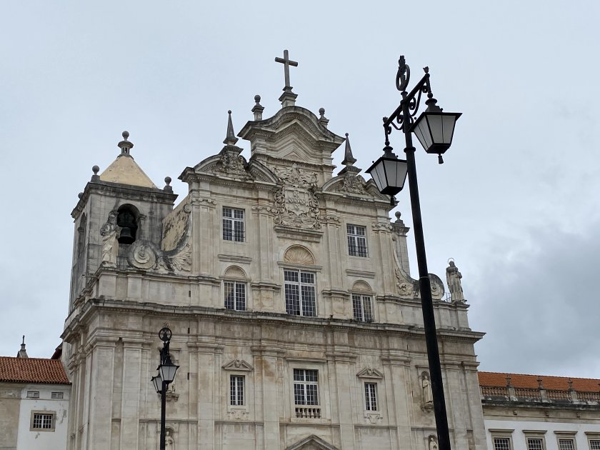 Coimbra's 'New Cathedral' was completed in the 17th century