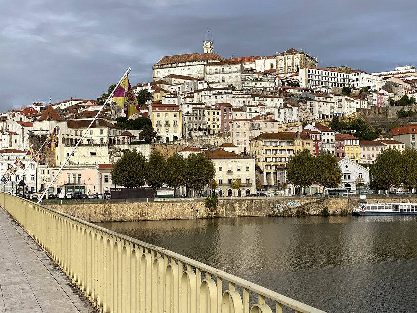I captured this view of Coimbra on Sunday, after returning from Pombal - see Part 7