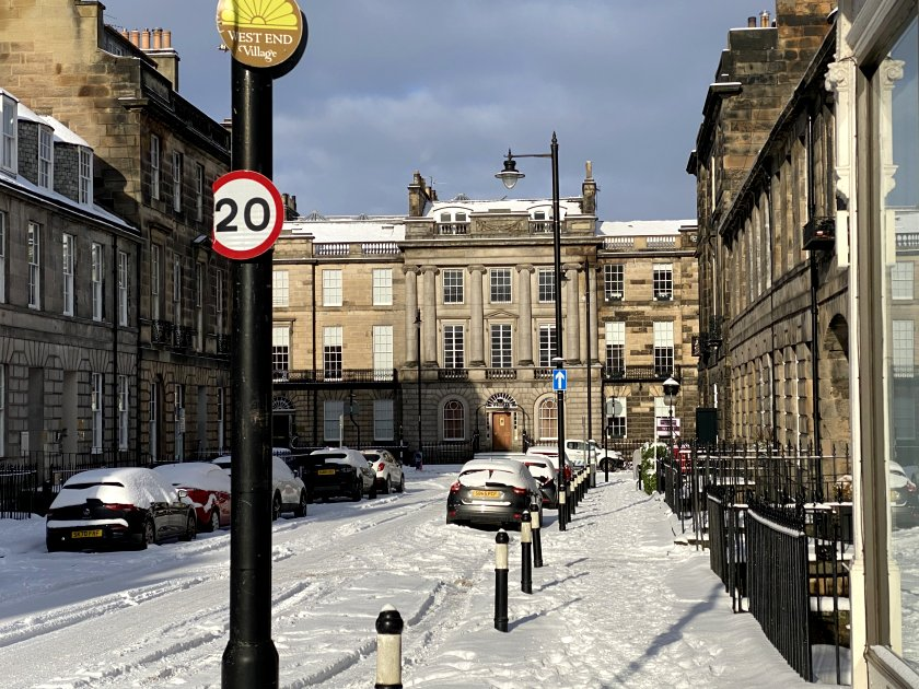 Stafford Street and Melville Street