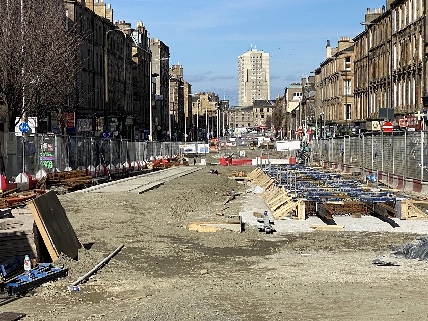 Leith Walk, from the Balfour Street junction