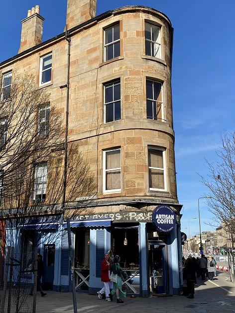 Leith Walk / Balfour Street coffee shop