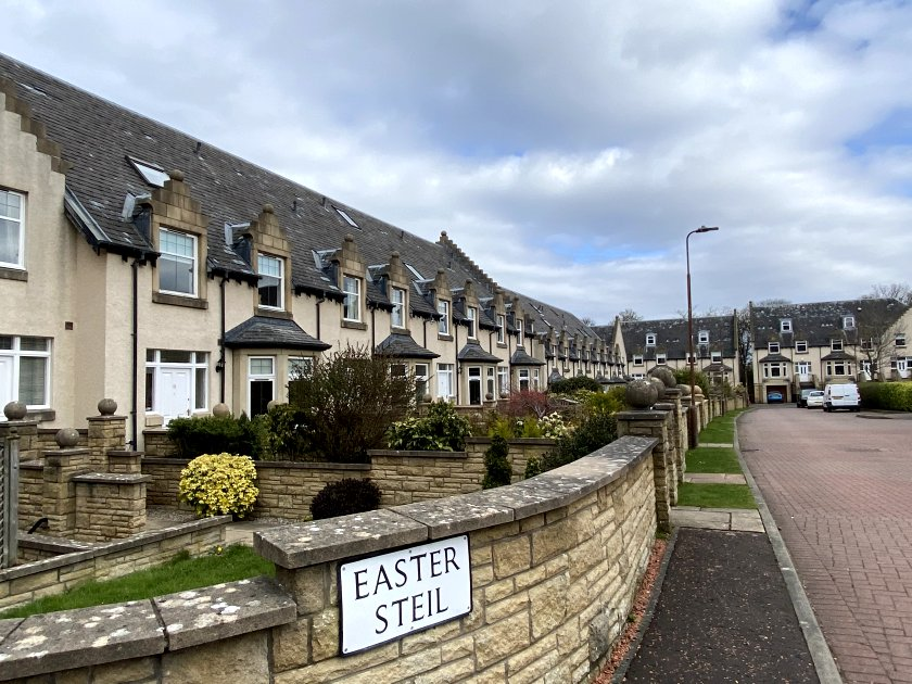 ... and terraced houses