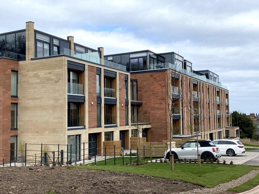 This new-build block has been named Burton