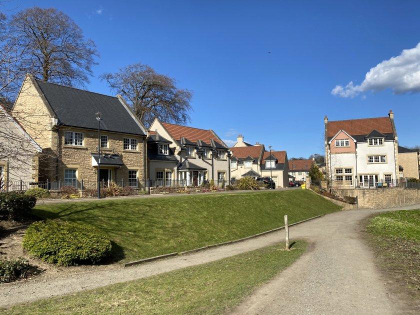 New Woodhall Millbrae estate in Juniper Green