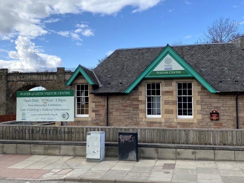 Water of Leith Visitor Centre at Slateford