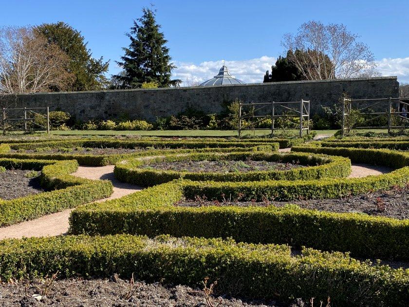 Formal gardens in Saughton Park