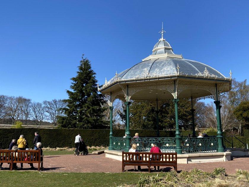 Saughton Park bandstand