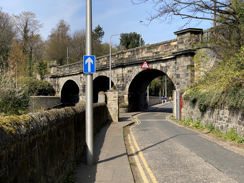 The longest on-street stretch of all: Warriston Road