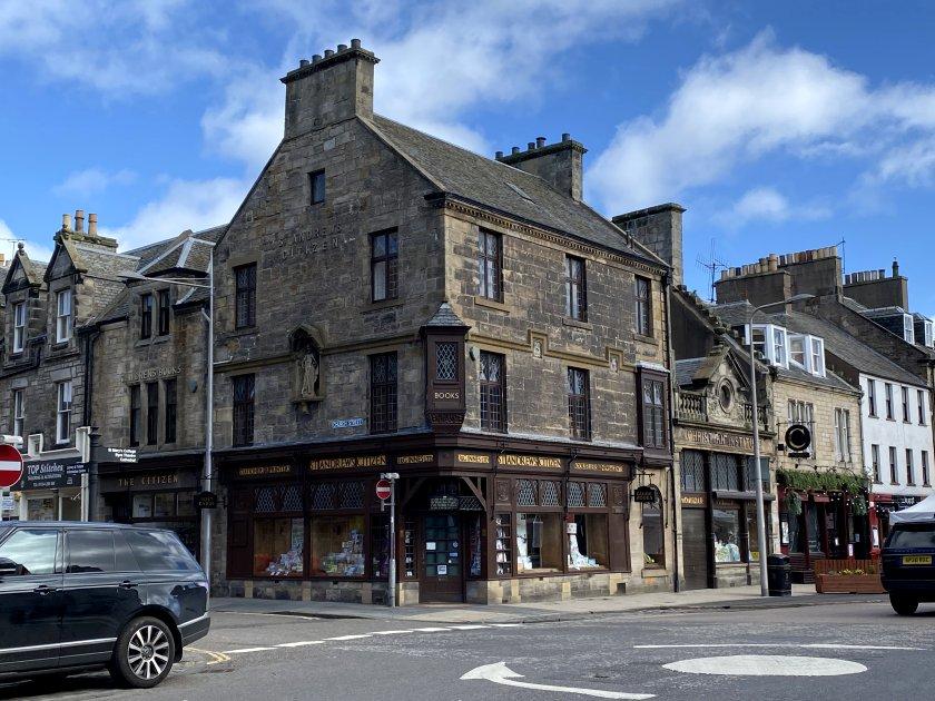 J & G Innes historic bookshop