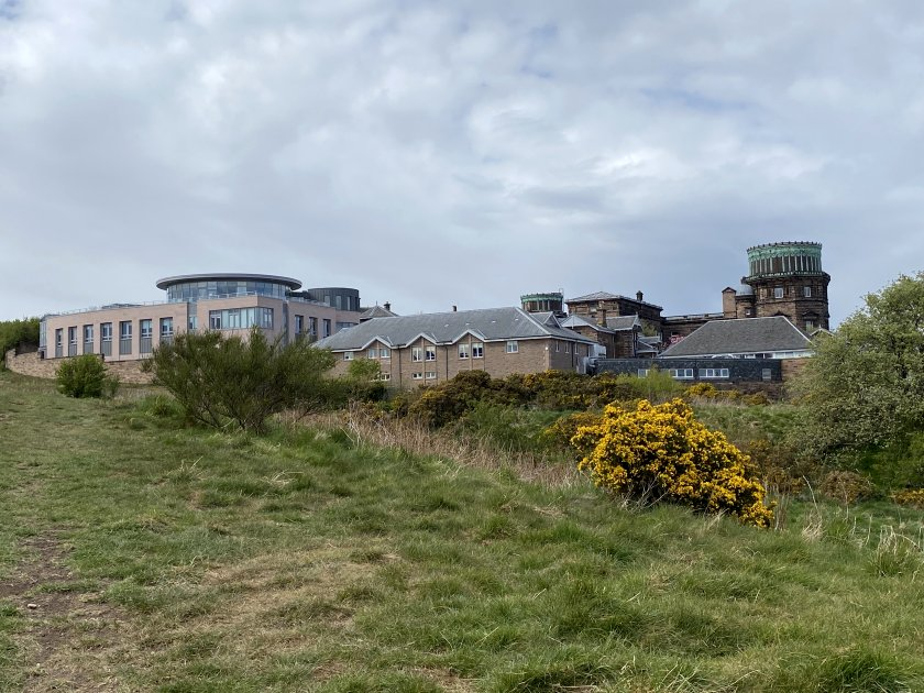 Royal Observatory, Blackford Hill, complete with new buildings