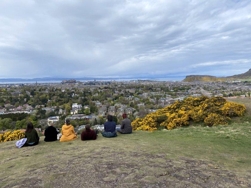Six take in the panorama