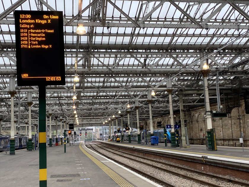 Awaiting the arrival of my (replacement) train