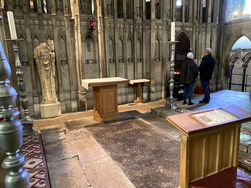 St Cuthbert's shrine