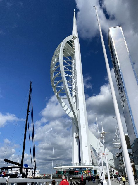 Portsmouth's iconic Spinnaker Tower