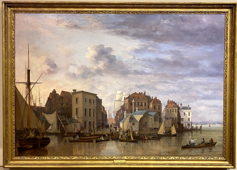 Painting of Old Portsmouth