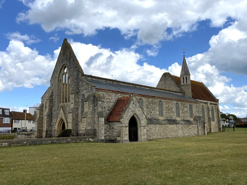 Royal Garrison Church, now in the care of English Heritage