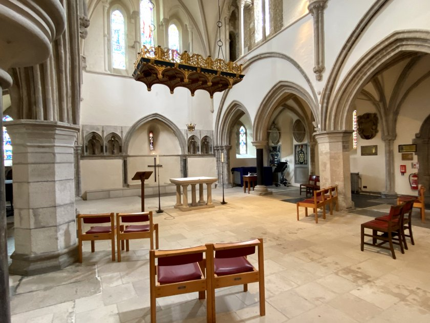 East altar