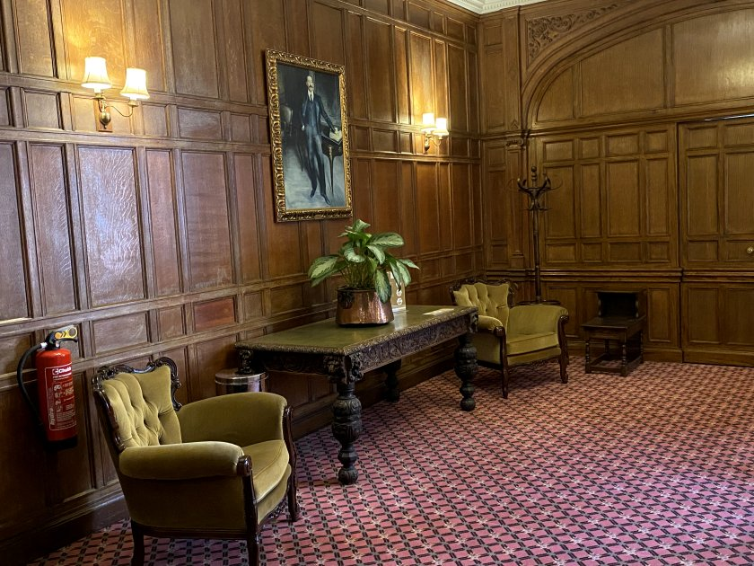 The next few photos show the hotel's public areas