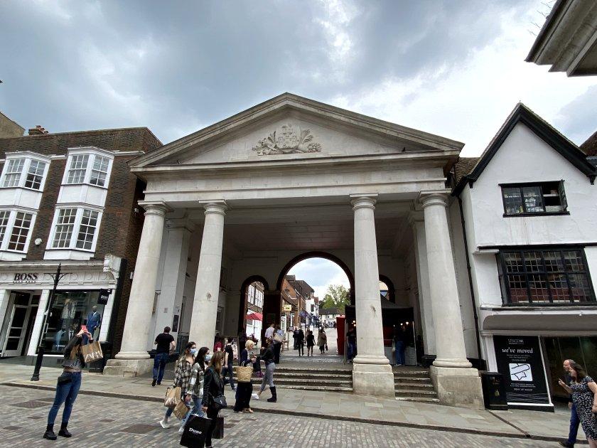 Tunsgate Arch