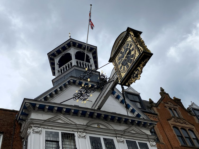 A final look at the Guildhall clock