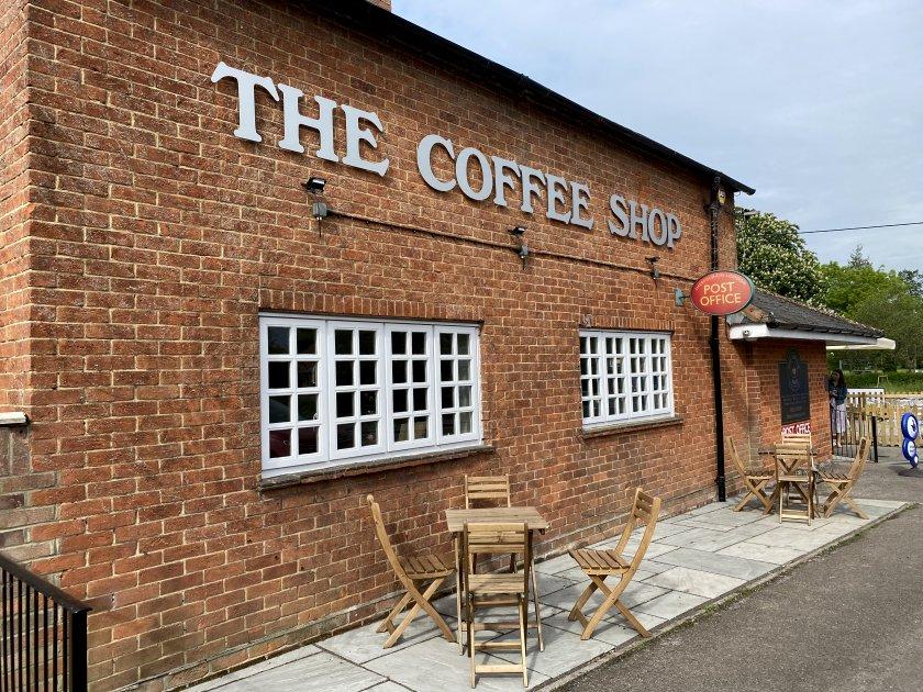 'The Coffee Shop' in Sherfield on Loddon