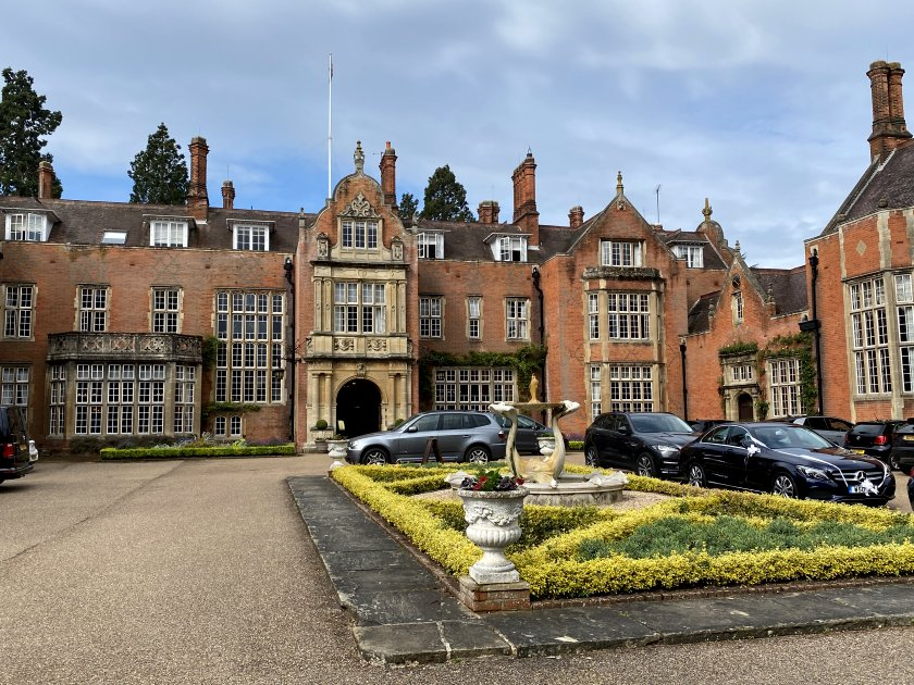 Soon it was time to wave goodbye to Tylney Hall