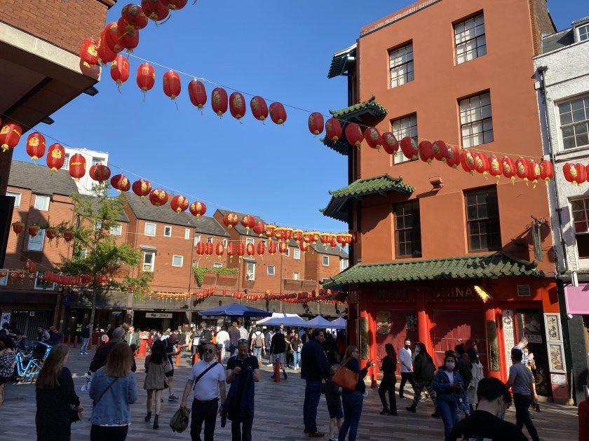Heading into Chinatown