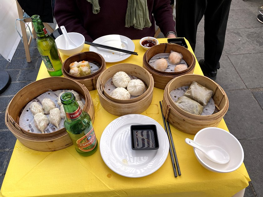 For us, Sundays and dim sum go well together