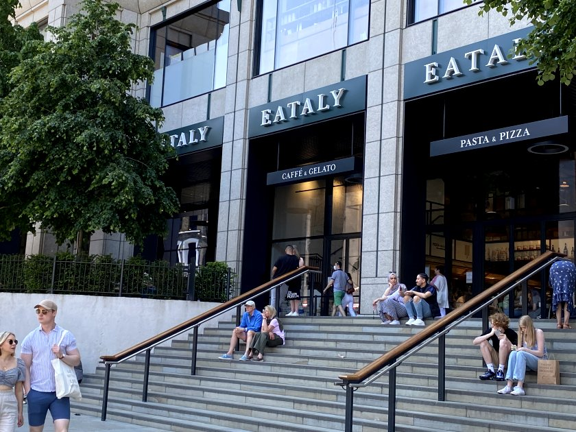 Here's the new 'Eataly' that we were keen to see