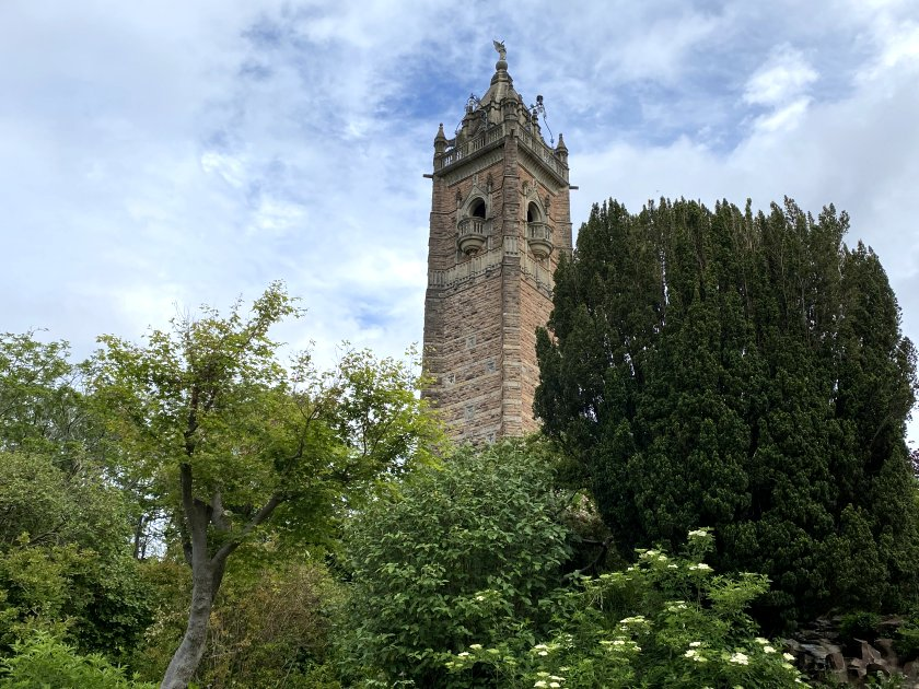 A closer look at Cabot Tower