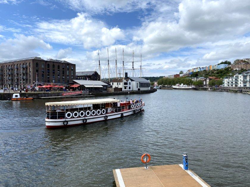 View from Broken Dock