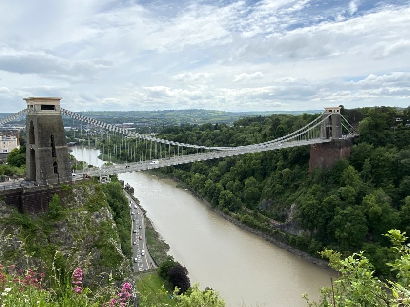 Clifton Suspension Bridge, from a more distant viewpoint