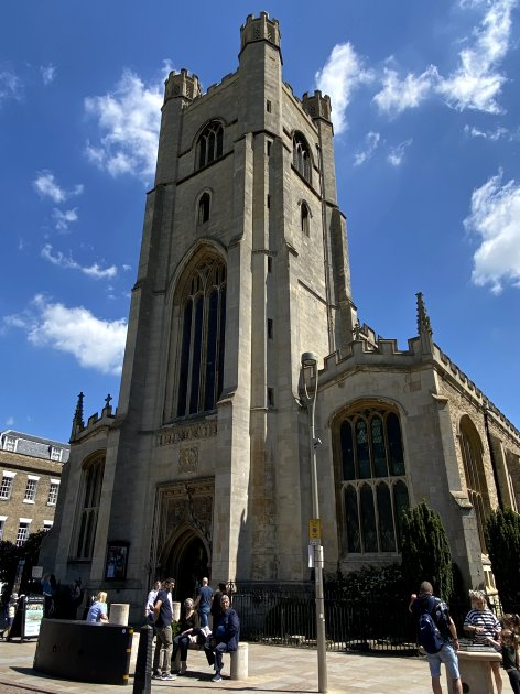 Great St Mary's, Senate House Hill