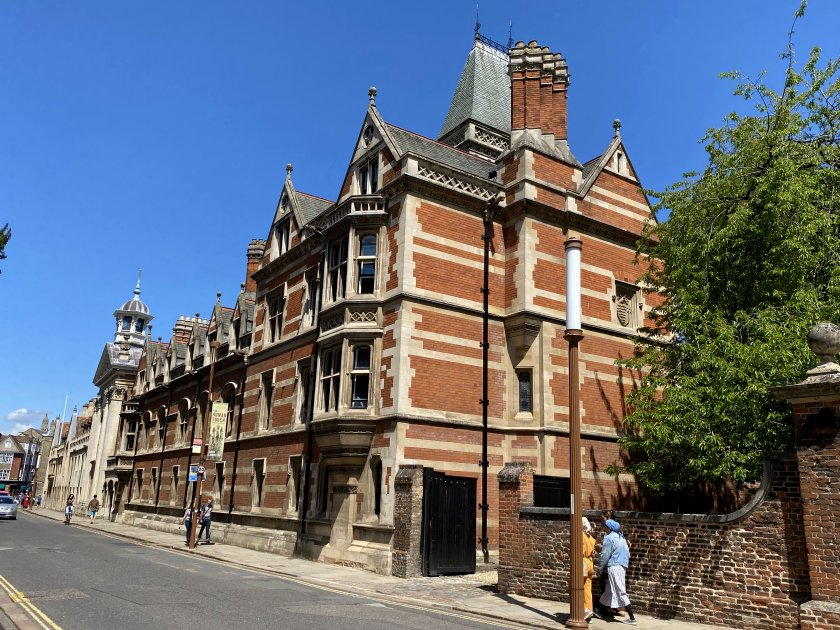 The Red Buildings, Pembroke College